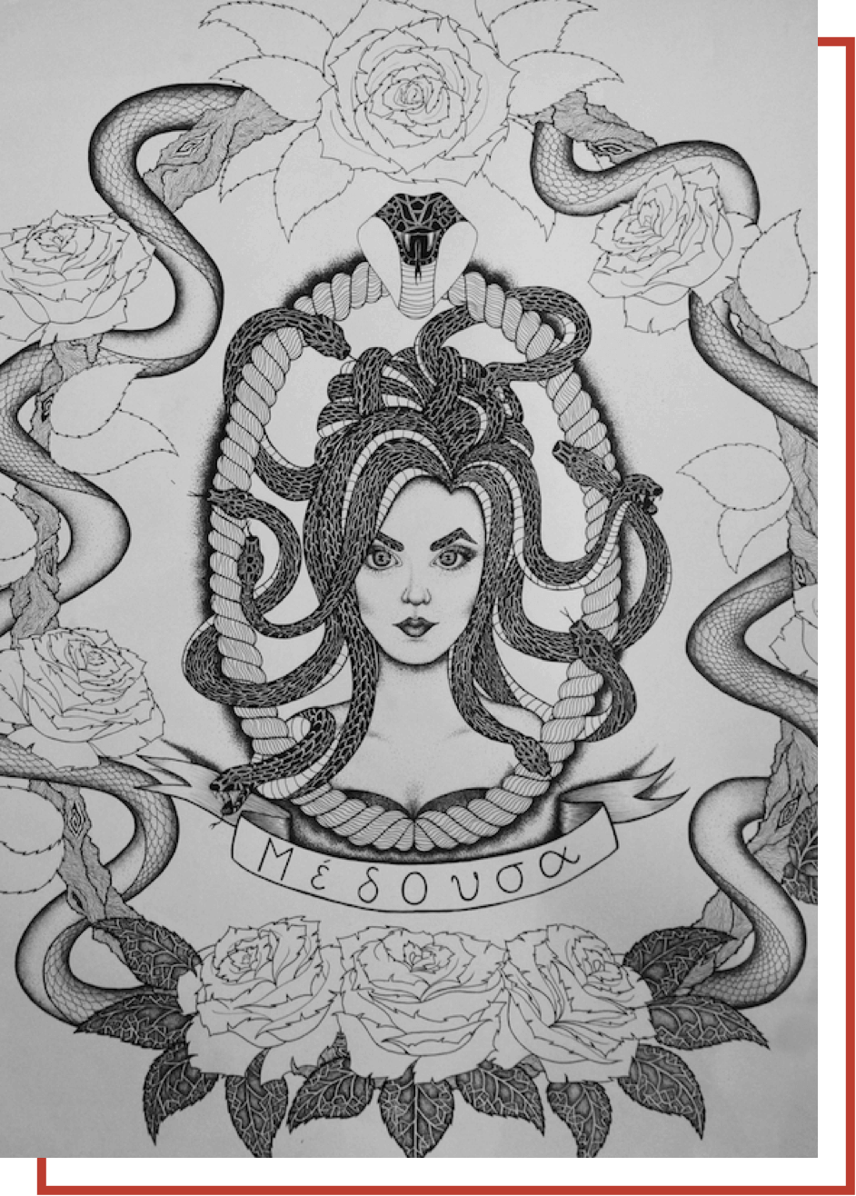 drawing_medusa